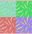 alligator seamless pattern vector image