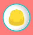 construction helmet icon design logo vector image