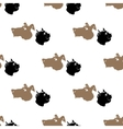 Dog Cat Seamless Animal Pattern vector image