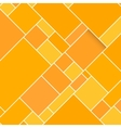 Orange Rectangular Structured Background vector image