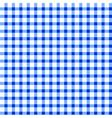 Seamless retro white-blue square tablecloth vector image