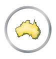 Territory of Australia icon in cartoon style vector image
