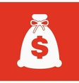 The money bag icon Cash and money wealth vector image