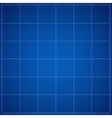 Blue Blueprint background vector image