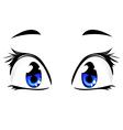 eyes vector image vector image