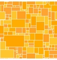Seamless Orange Rectangular Structured vector image