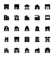 City Elements Icons 1 vector image