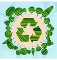 Green tree Earth vector image