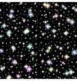 image Realistic seamless of the night sky vector image