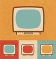 Small Television Icon vector image