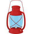 Camp lantern vector image vector image