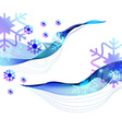 Christmas abstract greeting background vector image