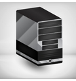 Computer case vector image