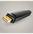 USB flash drive memory storage vector image