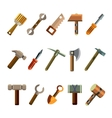 Building Instrument Icons Set vector image
