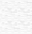 White brick wall background - vector image