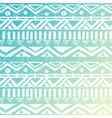 Hand Drawn Aztec Tribal Seamless Background vector image