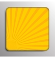 background Solar yellow rays Eps 10 vector image