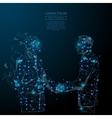 Best deal two businessman handshake vector image