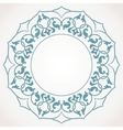 Round Ornament Pattern vector image