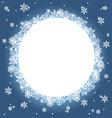 winter background 3 vector image