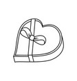 chocolate box design vector image