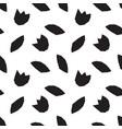 modern geometric flower pattern vector image