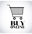 buy on line design vector image