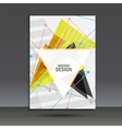 Light book cover Abstract composition of vector image