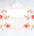 Wedding vignettes design elements collection on vector image