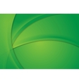 Abstract bright green corporate wavy background vector image