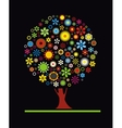 Flowers Tree vector image
