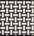 trendy monochrome twill weave seamless vector image