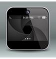 App design mobile phone camera icon vector image