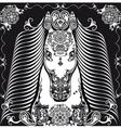 black horse101 vector image