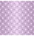 Seamless gentle violet vintage pattern vector image vector image