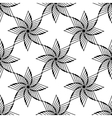 geometrical ornamental star symbol of the sun vector image