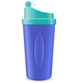 shaker bottle vector image vector image