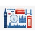 set of London vector image