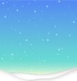 SnowBackground X vector image