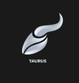 Taurus Horoscope Icon vector image
