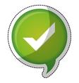 check mark accept icon image vector image