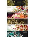 Floral graphics vector image