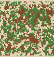 french flectarn camouflage seamless patterns vector image