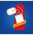 limited offer online red tag price gift vector image