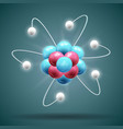 science atom vector image