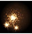 Christmas Sparkler vector image vector image