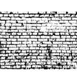 brick texture background brick effect vector image