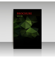 Abstract modern cover report brochure flyer vector image