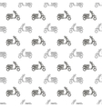 Seamless Scooter Pattern vector image
